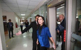Nadine Heredia debe asistir hoy a Comisión de Fiscalización