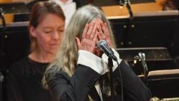 Patti Smith negó que se le haya olvidado letra de Bob Dylan