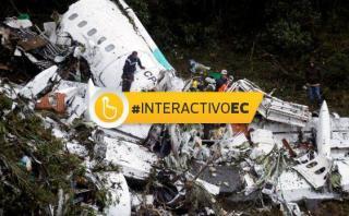 Las tragedias aéreas que enlutaron el 2016 [INTERACTIVO]