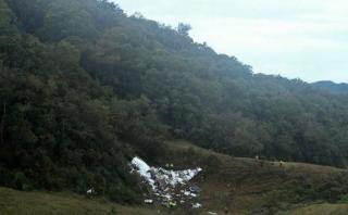 "Bautizan ""Chapecoense"" a cerro colombiano donde avión estrelló"