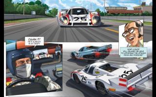 Le Mans: La película de Steve McQueen, del cine al cómic