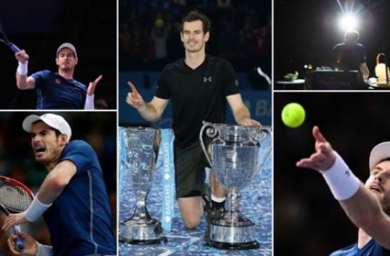 Andy Murray: el año en fotos del mejor tenista del mundo