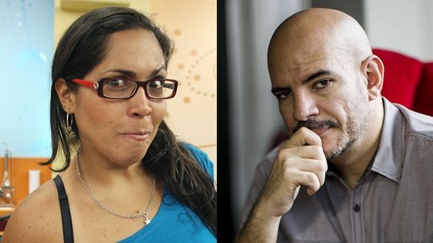 """""""Yo soy"""": Ricardo y Katia tuvieron intercambio de palabras"""