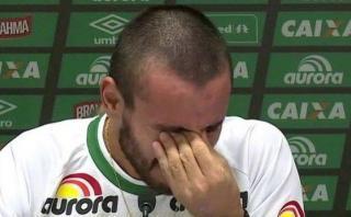 Chapecoense: estremecedor llanto de Alan Ruschel en Arena Condá