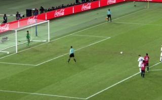 Cristiano Ronaldo anotó de penal para empate del Real Madrid