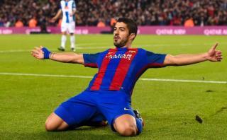 Barcelona: Suárez anotó tras un extraordinario pase de Iniesta