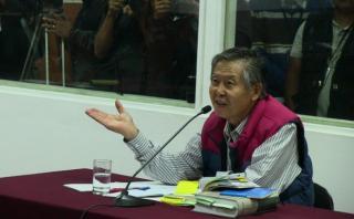 Alberto Fujimori, en clínica por problemas en el páncreas
