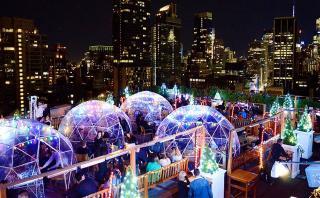 Disfruta de un trago dentro de un iglú en pleno Nueva York