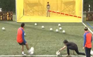 Messi y Suárez vencieron en juego japonés a un dron [VIDEO]