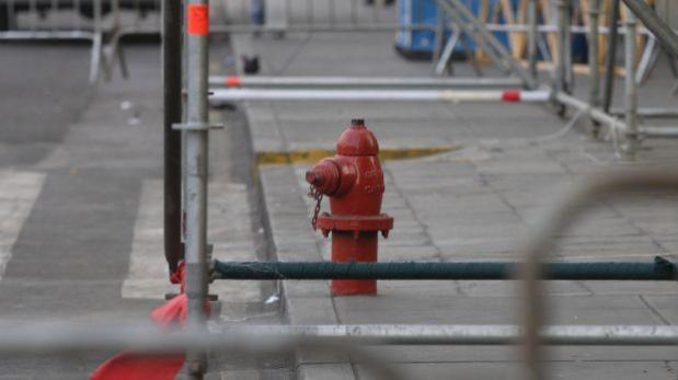 Más de 34% de hidrantes presenta problemas de accesibilidad