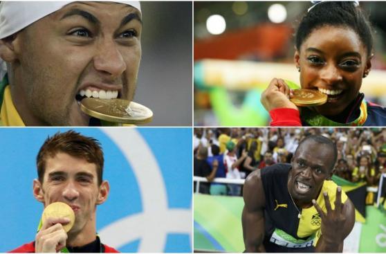Usain Bolt, Phelps y las estrellas que dejó Río 2016 [FOTOS]