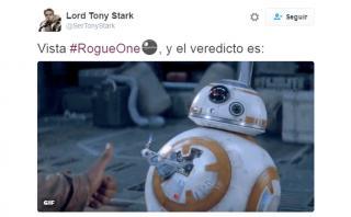 """Estos son los memes que nos dejó la película """"Rogue One"""""""