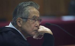 INPE informó que Alberto Fujimori ya tiene luz y agua