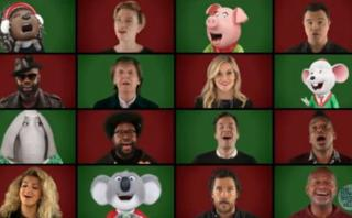 Jimmy Fallon, Paul McCartney y otros cantan villancico [VIDEO]