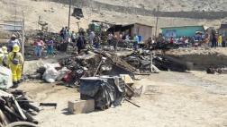 Lurín: incendio destruyó 4 viviendas y causó muerte de mascotas