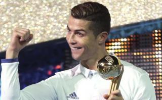 Cristiano Ronaldo elegido como deportista europeo del año