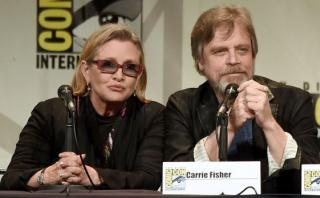 """Star Wars"": elenco lamentó la muerte de Carrie Fisher"