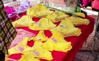 Ropa interior amarilla para recibir Año Nuevo en Latinoamérica