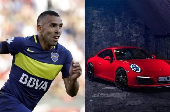 ¿Qué autos podría comprar Carlos Tevez con su sueldo diario?