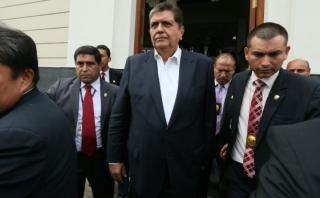 Abogados de Alan García discrepan sobre hábeas corpus