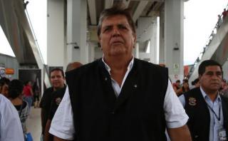 """García vuelve a referirse a Odebrecht: """"Nombres, nombres ya"""""""
