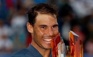 Rafael Nadal 'conquistó' el Mubadala Tennis de Abu Dhabi