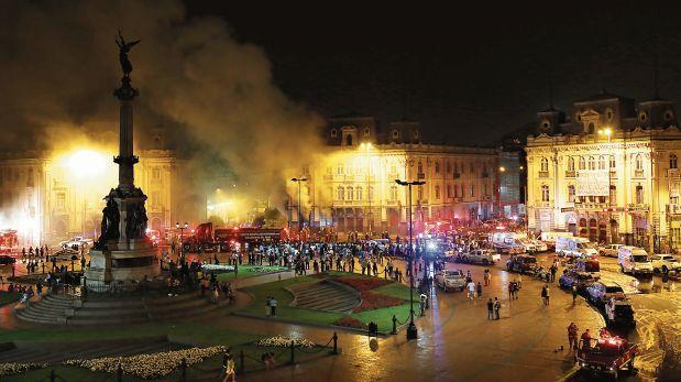 Declaran inhabitable inmueble siniestrado en plaza Dos de Mayo