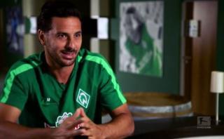 Claudio Pizarro: Bundesliga elaboró reportaje sobre sus raíces