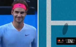 Federer genera admiración por increíble gesto de fair play