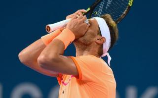 Rafael Nadal perdió ante Milos Raonic y se despidió de Brisbane