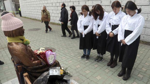 Tensión entre Japón y Surcorea por estatua de esclava sexual