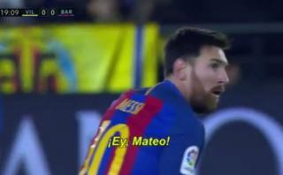 Lionel Messi agredió verbalmente a Musacchio por esta acción