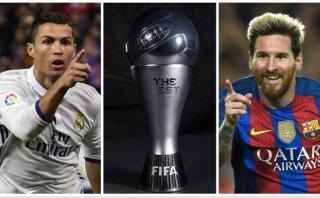 Cristiano, Messi y otro desafío, el The Best; por Jorge Barraza