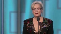 Meryl Streep dio este poderoso discurso en los Globos de Oro