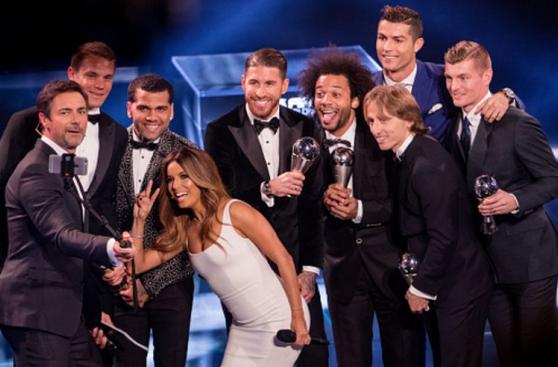 FIFA The Best: las postales que dejó la ceremonia en Zúrich