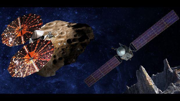 La NASA aprobó dos misiones a misteriosos asteroides
