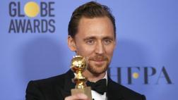 Tom Hiddleston se disculpó por discurso en los Globos de Oro