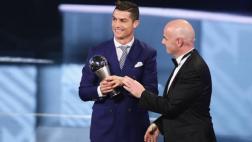 FIFA The Best: Cristiano Ronaldo ganó premio a Mejor Jugador