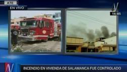 Incendio en Ate: rejas dificultaron trabajo de los bomberos