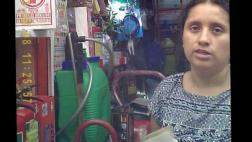Mafia de extintores bamba: así opera en pleno Cercado [VIDEO]