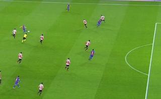 Barcelona: garrafal error arbitral en gol legítimo de Suárez