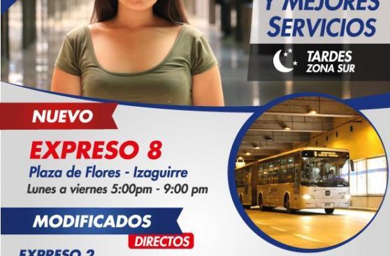 Metropolitano: así cambiarán los servicios desde el lunes 30