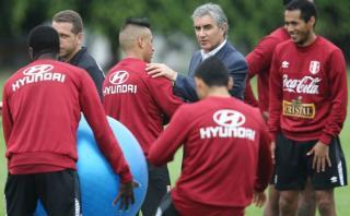 Selección: Oblitas explicó por qué no se jugó contra Francia