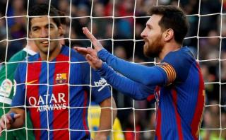 Messi logró otro récord en la Liga de España ante Las Palmas