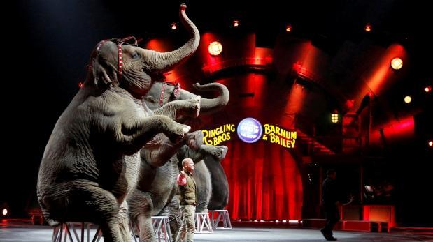 Cae el telón del circo Ringling tras 146 años de actividad