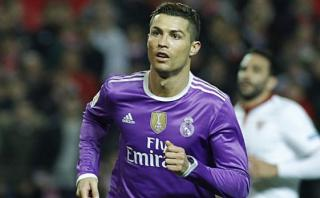 Cristiano Ronaldo puso el 1-0 a favor del Madrid ante Sevilla
