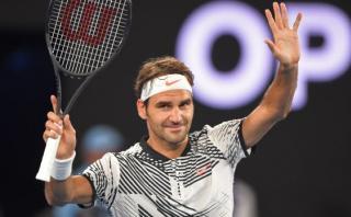Roger Federer regresó y debutó con triunfo en el Australia Open