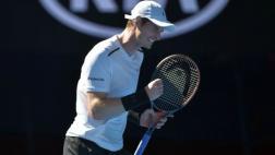 Andy Murray avanzó a la segunda ronda del Abierto de Australia