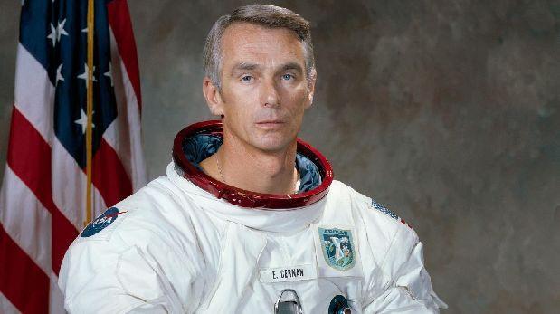 Fallece Gene Cernan, el último hombre que pisó la Luna