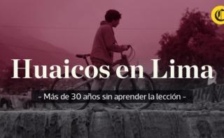 Huaicos en Chosica: año a año la misma emergencia [VIDEO]